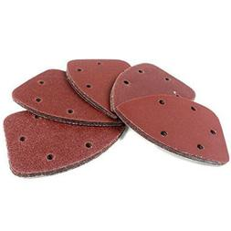 40Pcs Triangle Back 140 * 90 Sandpaper With Hole Special-sha