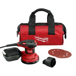 Milwaukee 5 in. Random Orbit Palm Sander with Dust Bag 6034-