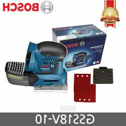 BOSCH GSS 18V-10 PALM Sander  Low Vibration Orbital _mo