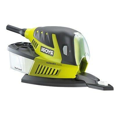 80w palm sander with dust collection box